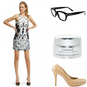 Looks Speak DMAE, Tom Ford, shift dress
